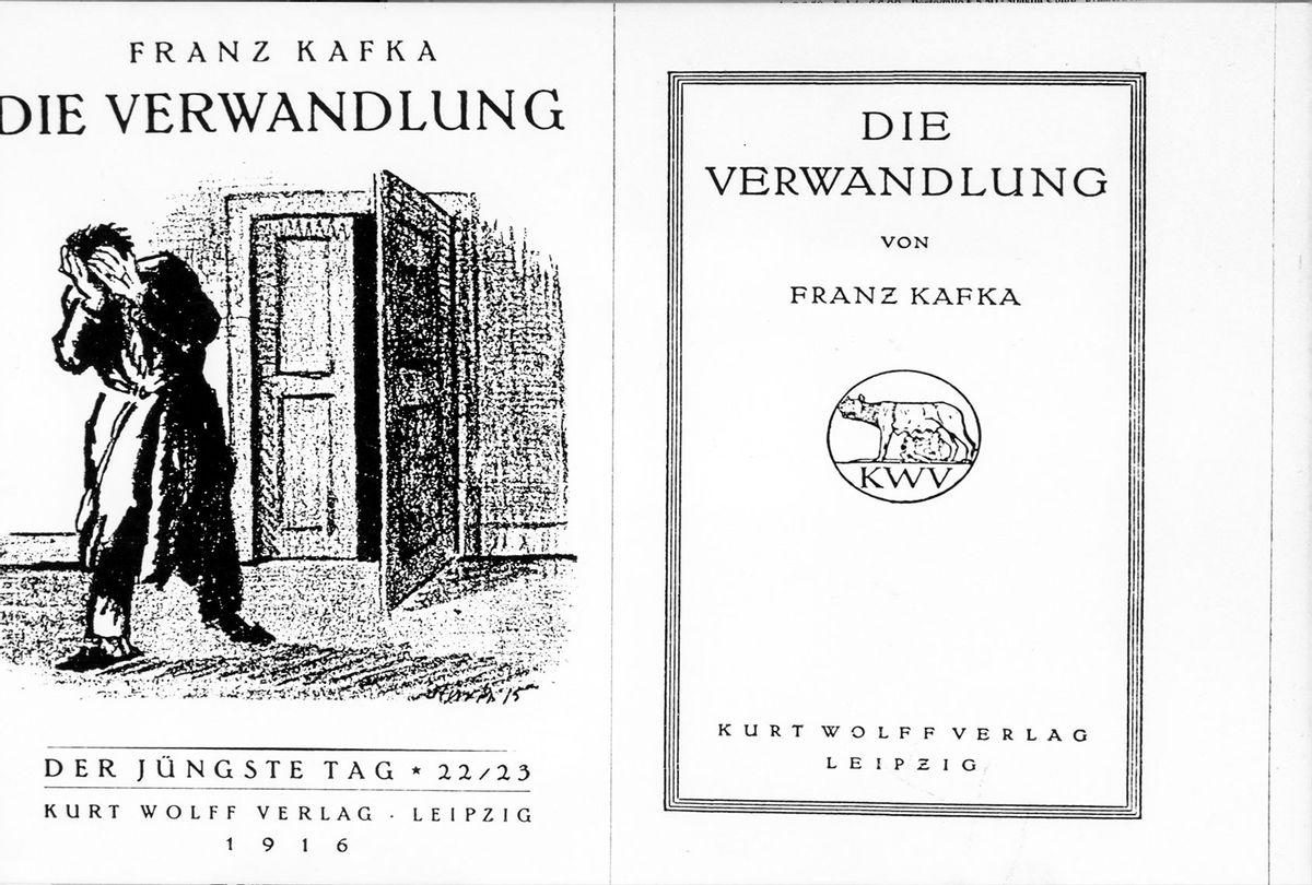 """""""The Metamorphosis"""" novel or """"Die Verwandlung"""" in German by Franz Kafka (Marka/Universal Images Group via Getty Images)"""
