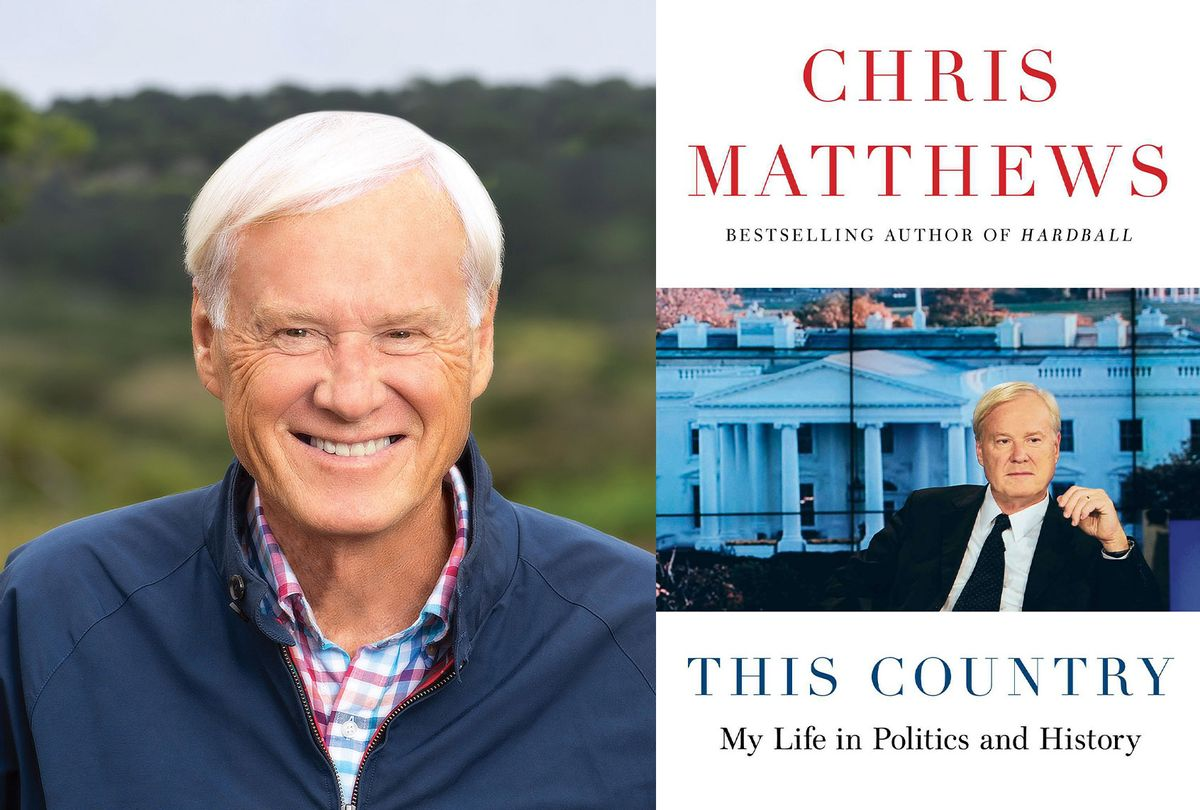 This Country by Chris Matthews (Photo illustration by Salon/Simon & Schuster/Brian Sager)