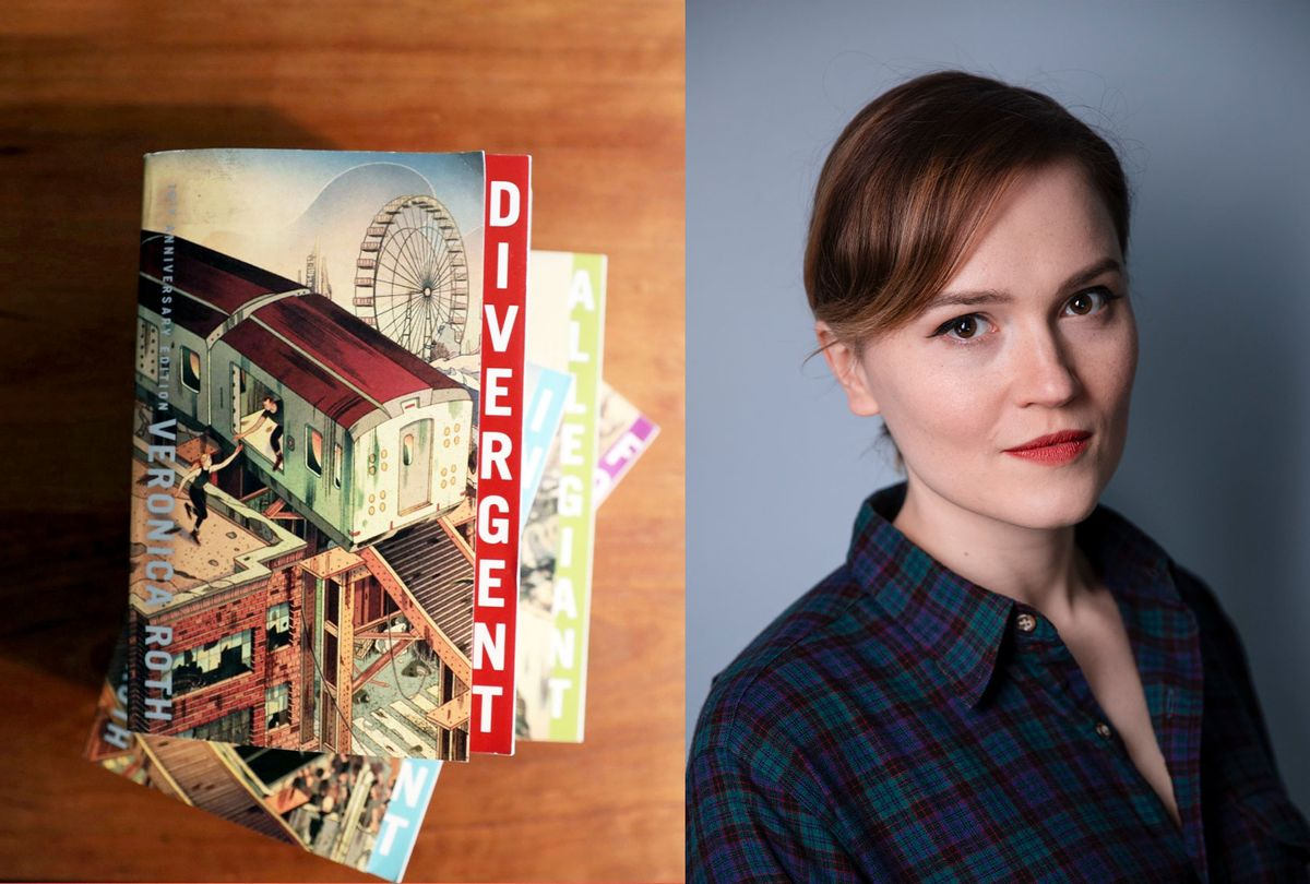 Veronica Roth, author behind the Divergent series (Photo illustration by Salon/Veronica Roth/Nelson Fitch)