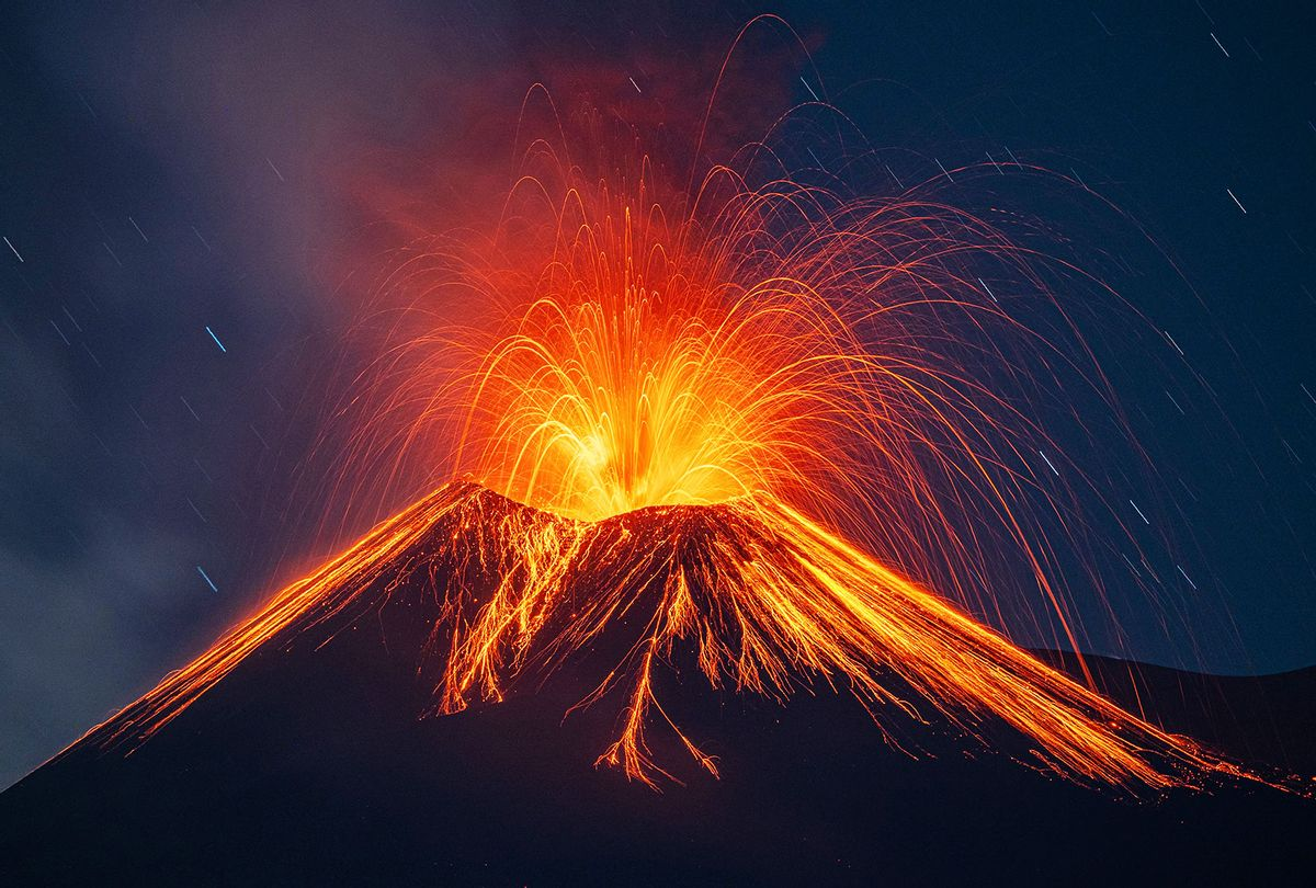 New eruption of the Etna volcano in Sicily. (Marco Restivo/Barcroft Media via Getty Images)
