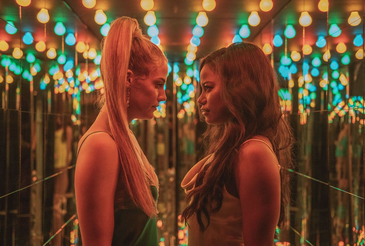 """Riley Keough and Taylour Paige star in """"Zola"""" (A24)"""
