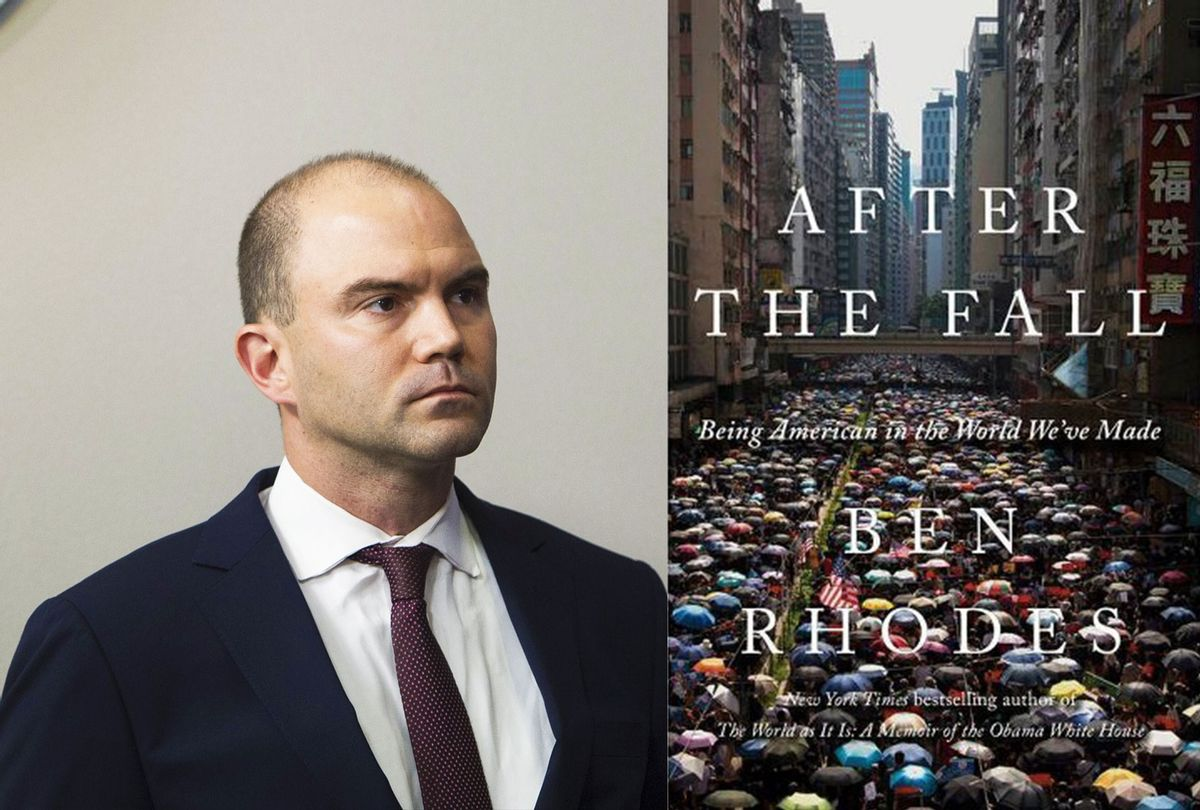 After The Fall by Ben Rhodes (Photo illustration by Salon/Getty Images/SAUL LOEB/Random House)