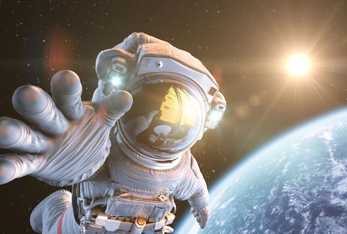 Astronaut in outer space (Getty Images)