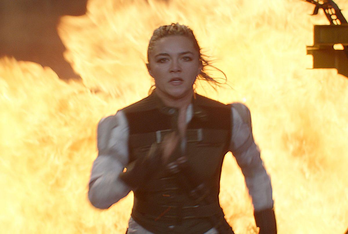 "Florence Pugh in ""Black Widow"" (Marvel Studios)"
