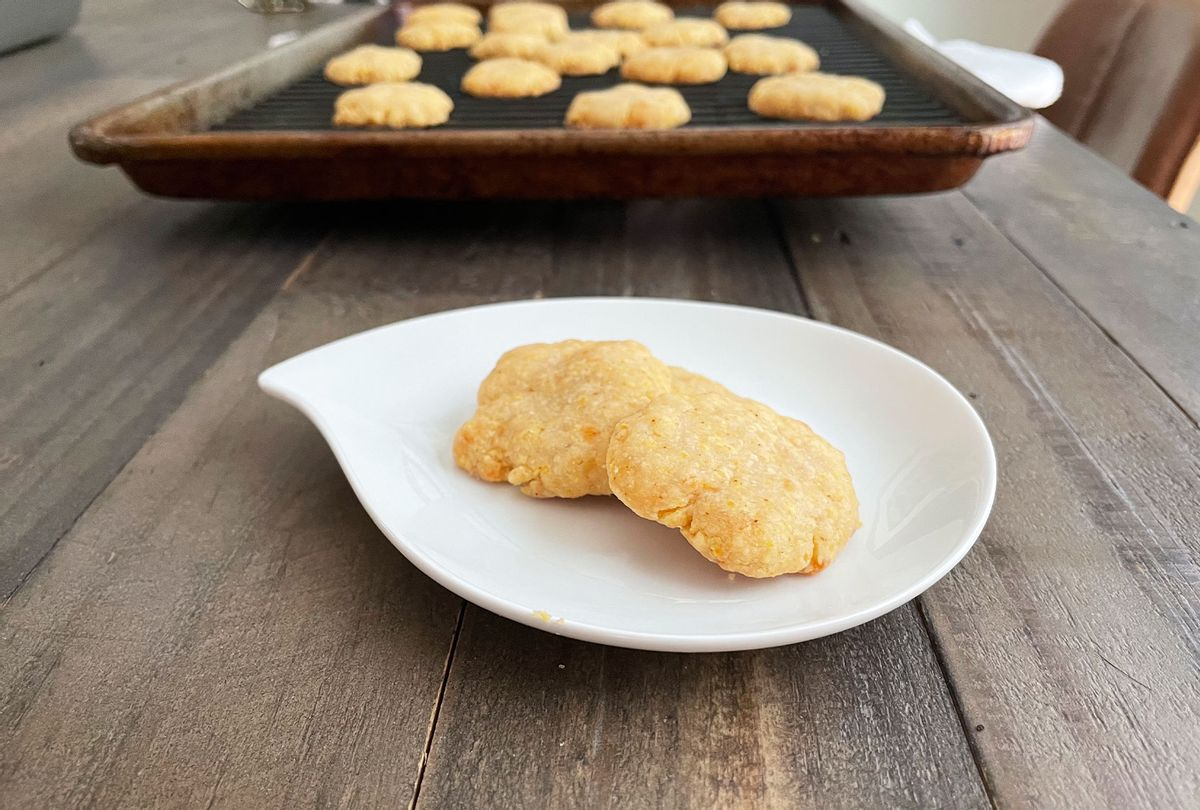 Cheese Wafers (Maggie Hennessy)