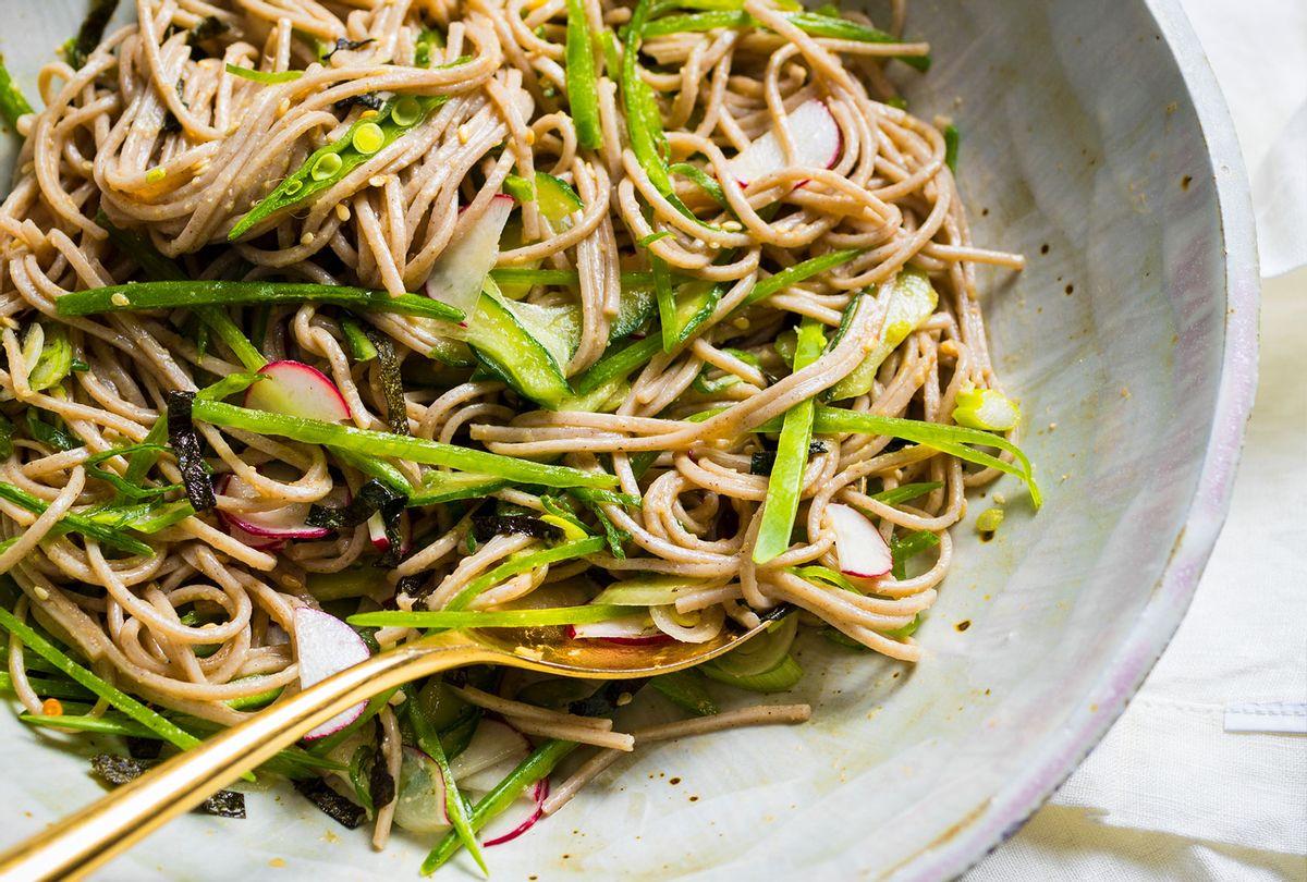Chilled Soba Noodle Salad (America's Test Kitchen)