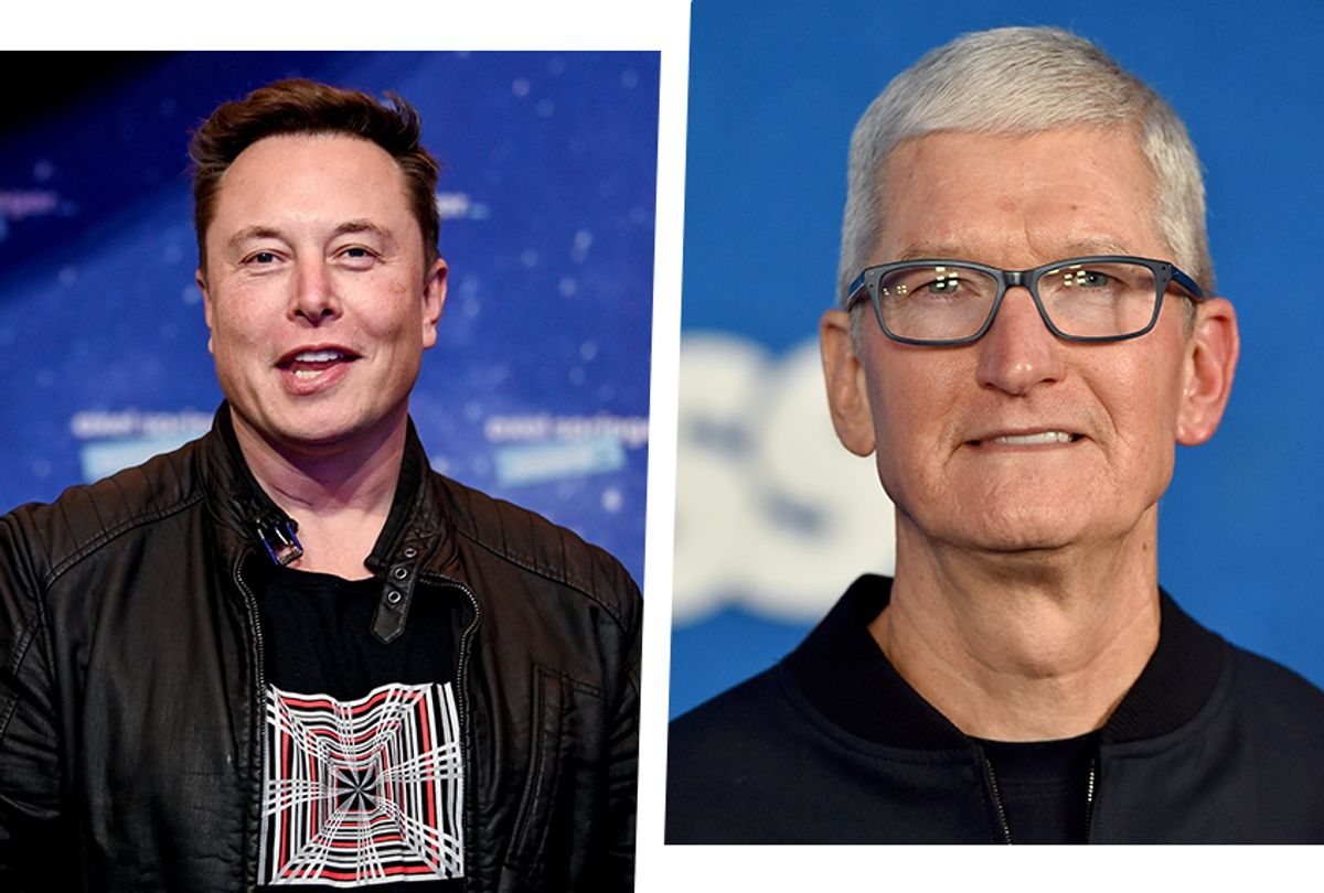 Elon Musk once demanded Tim Cook install him as CEO of Apple, new book claims