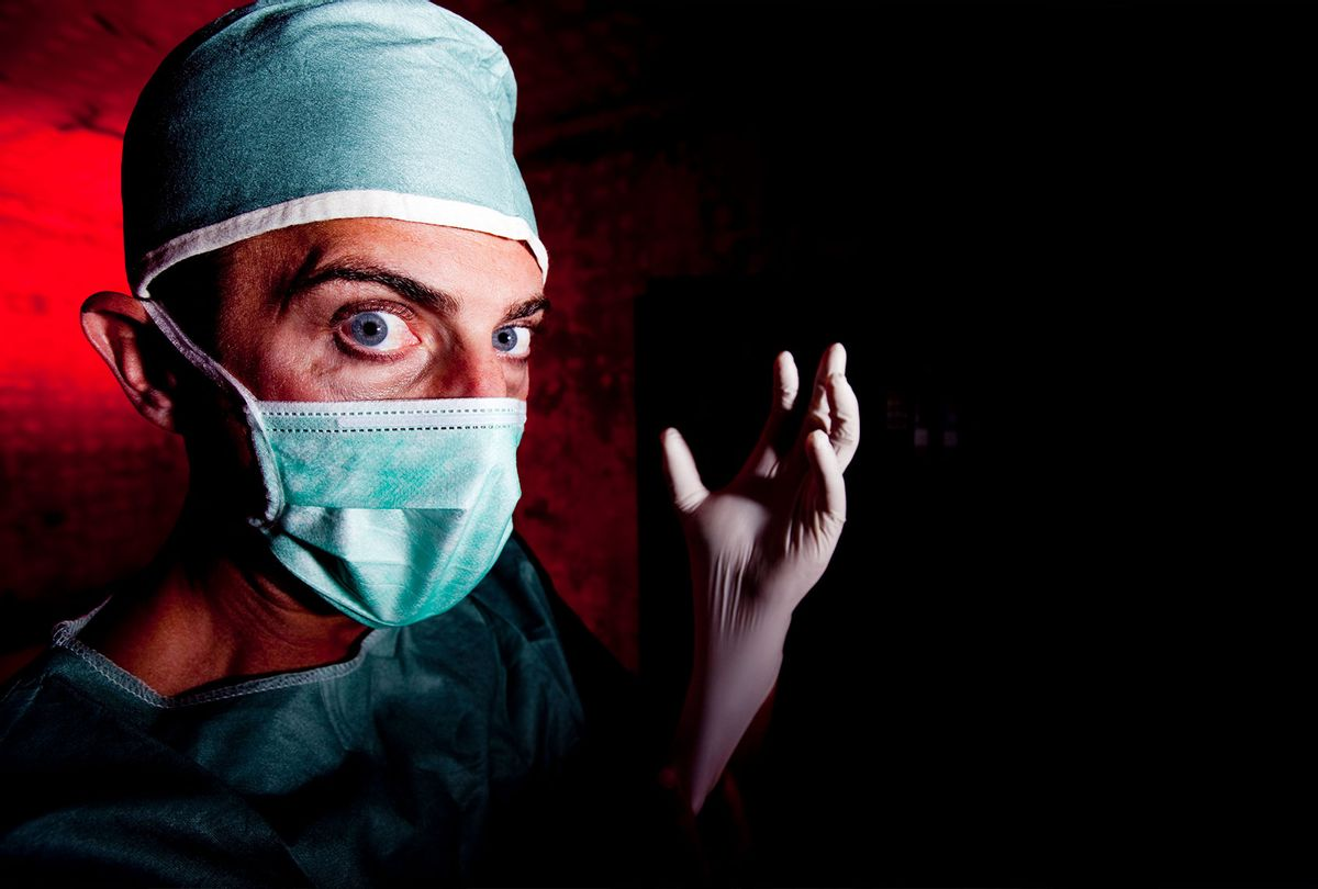 Scary Doctor (Getty Images/Doughberry)