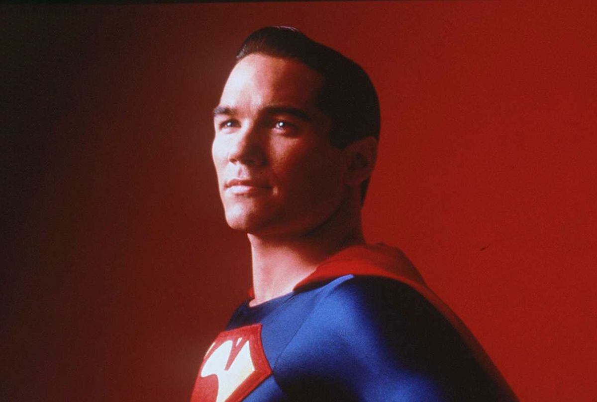 1996 DEAN CAIN IN LOIS AND CLARK: THE NEW ADVENTURES OF SUPERMAN (Getty Images/Warner Bros.)