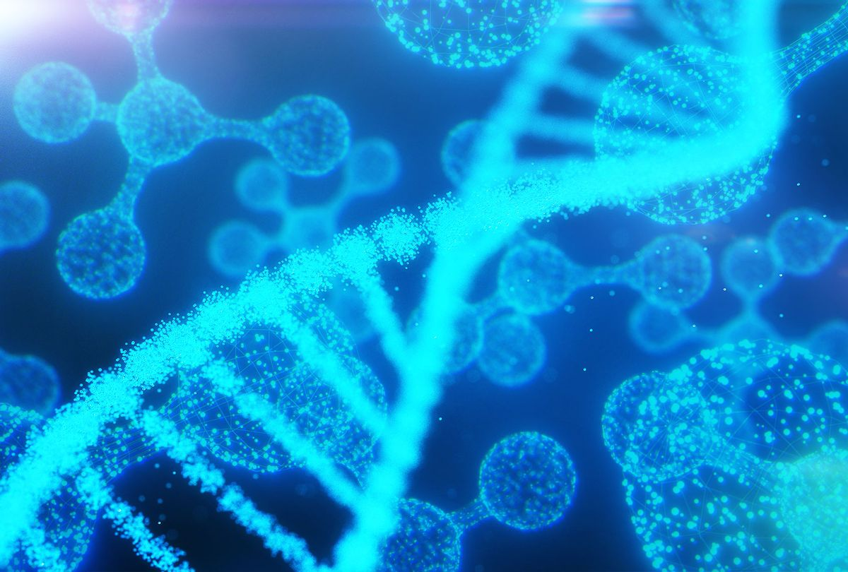 DNA, Atoms and particles (Getty Images/Yuichiro Chino)