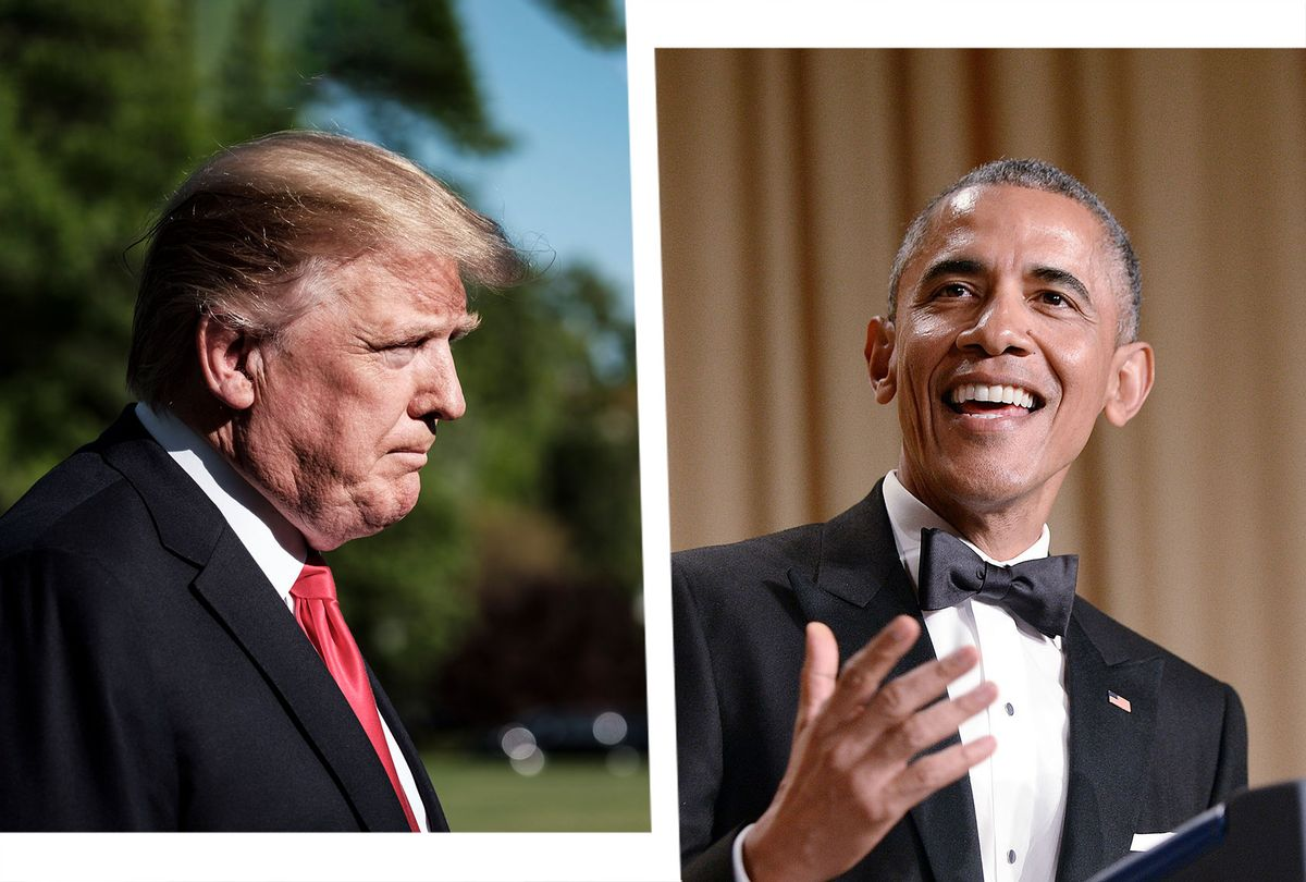 Donald Trump and Barack Obama (Photo illustration by Salon/Getty Images)