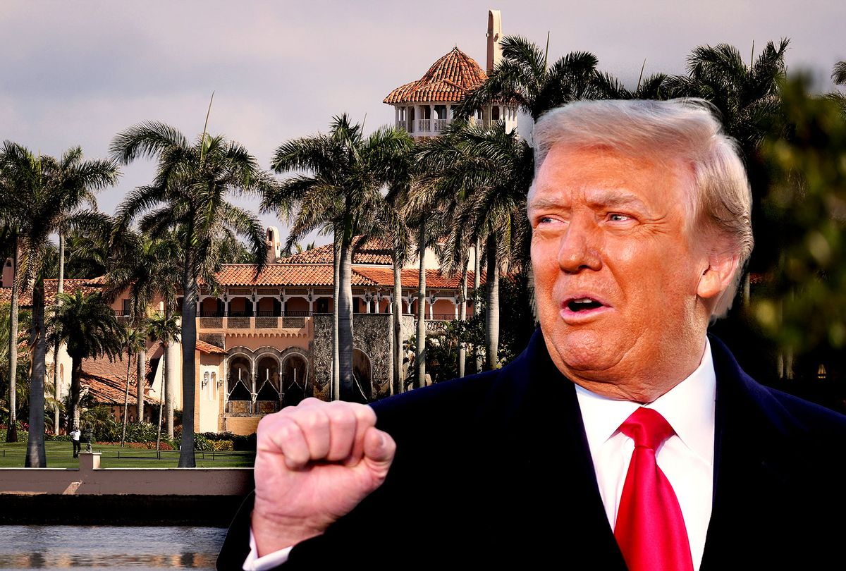 Donald Trump   Mar-A-Lago (Photo illustration by Salon/Getty Images)