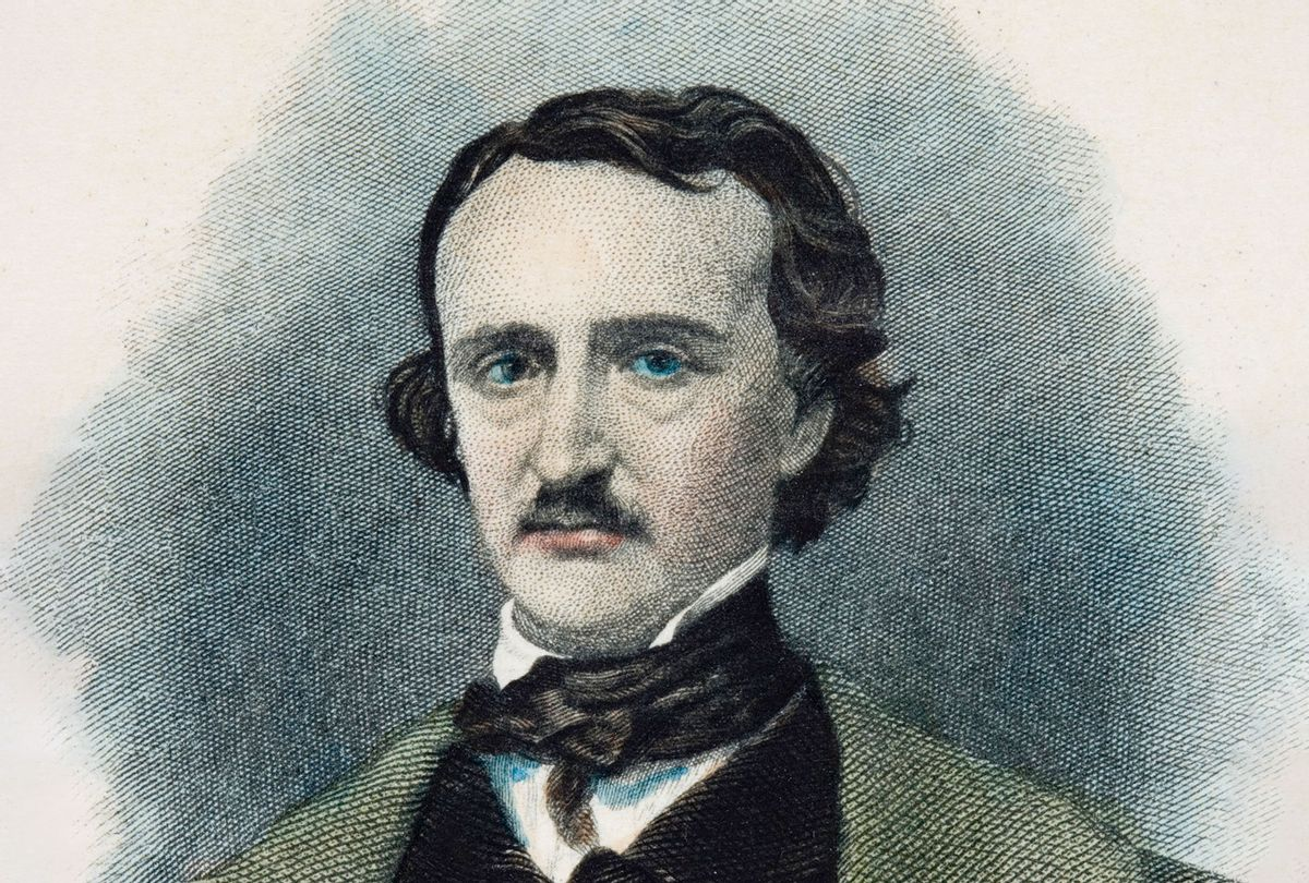 Edgar Allan Poe (1809-1849) American writer. (Universal History Archive/Getty Images)
