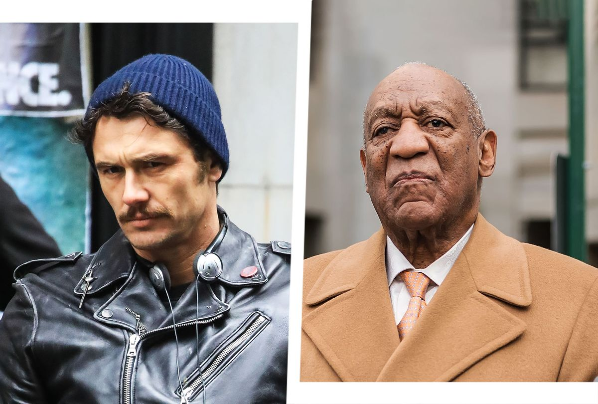 James Franco and Bill Cosby (Photo illustration by Salon/Getty Images)