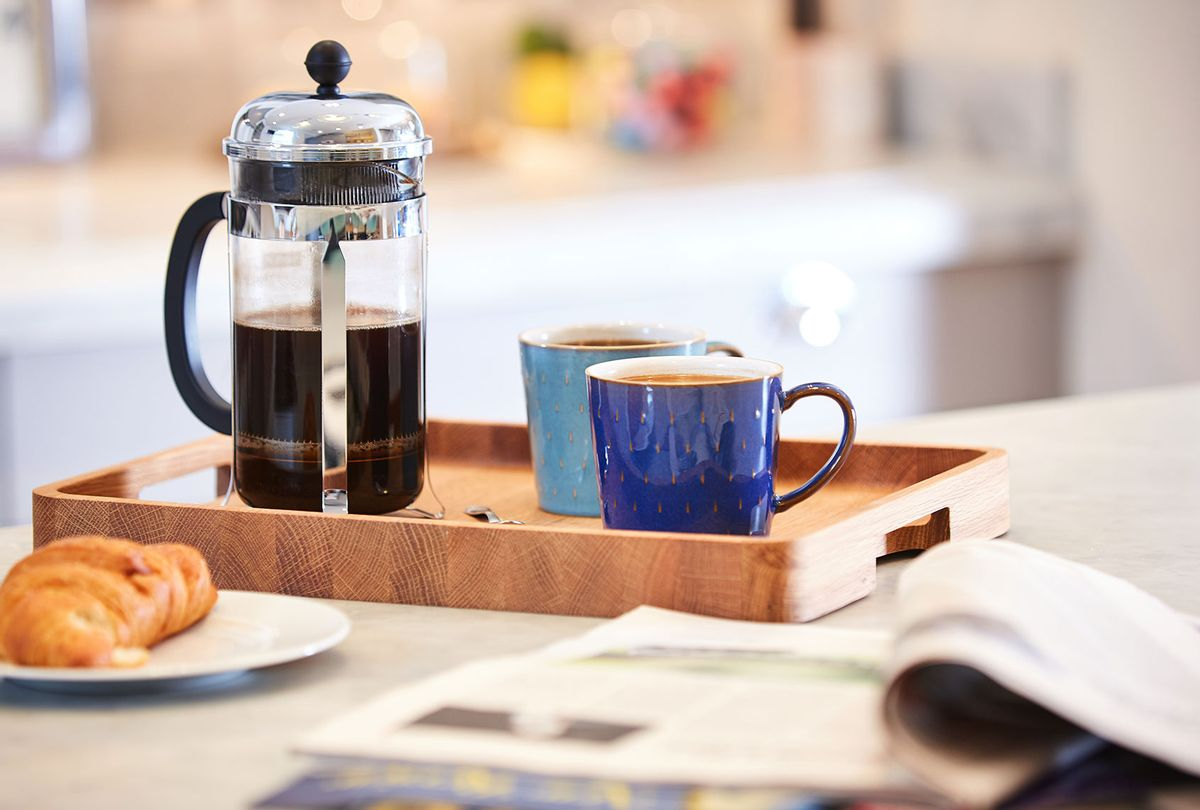 Coffee made in a French Press (Getty Images/Onzeg)