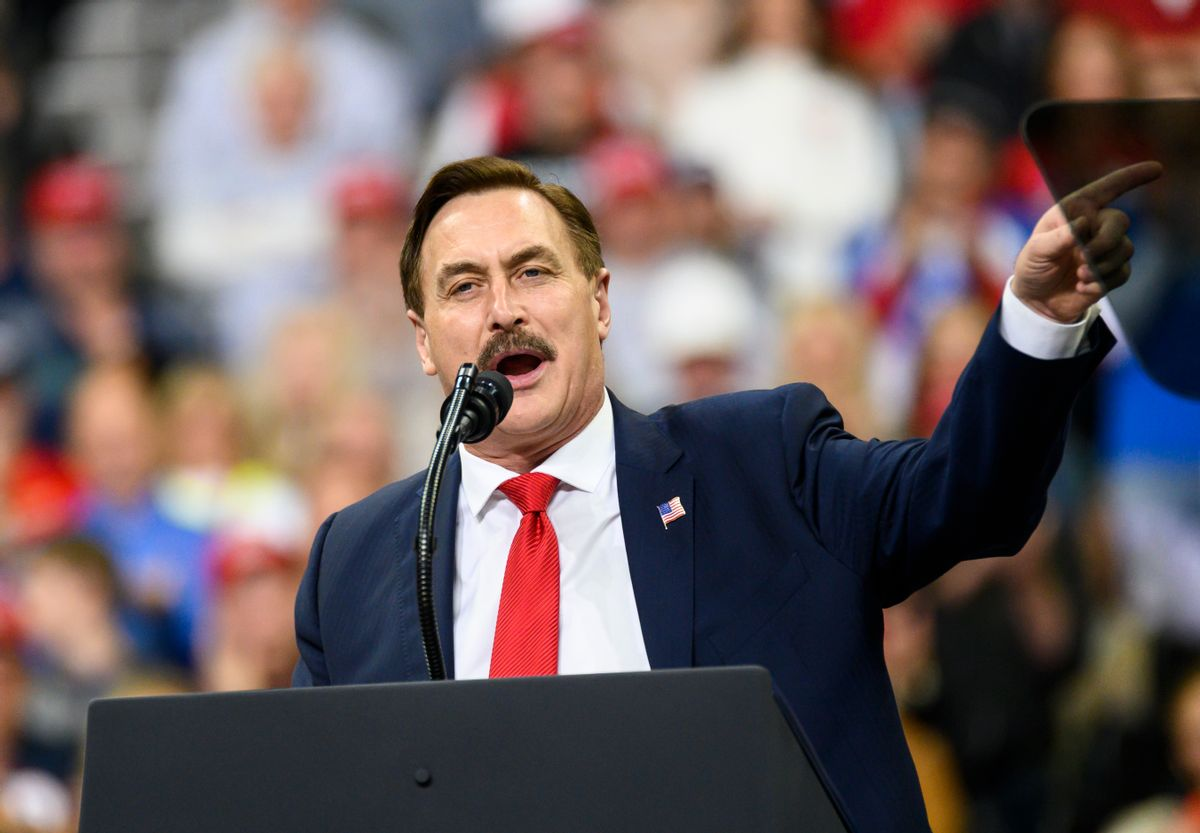 MyPillow CEO Mike Lindell (Getty Images)