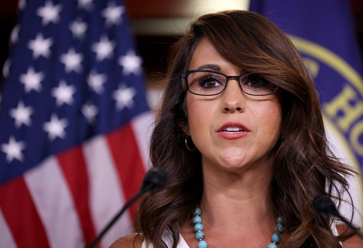 Rep. Lauren Boebert, R-Colo. (Getty Images/Win McNamee)