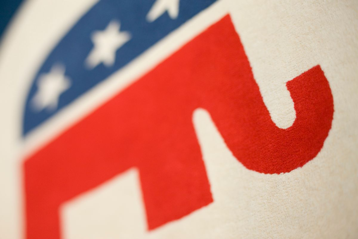 The elephant, a symbol of the Republican Party (Getty Images)