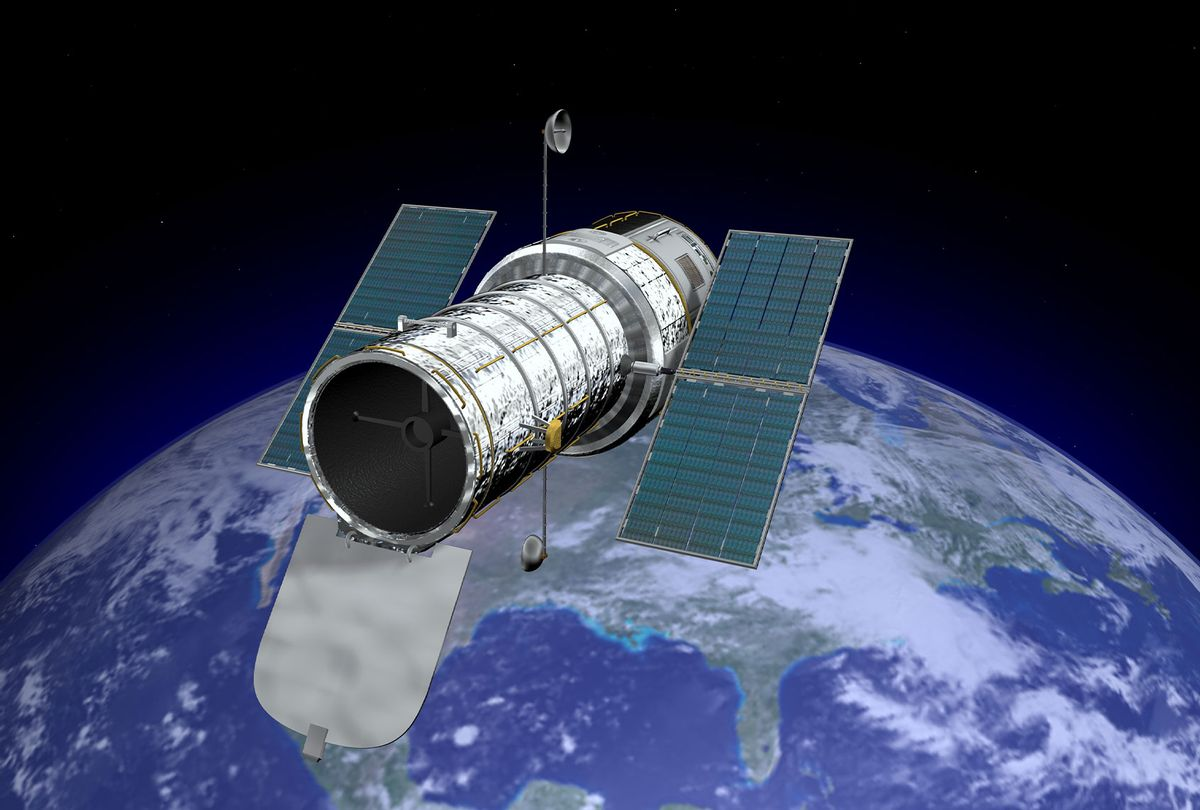 Hubble Space Telescope (Getty Images/James Benet)