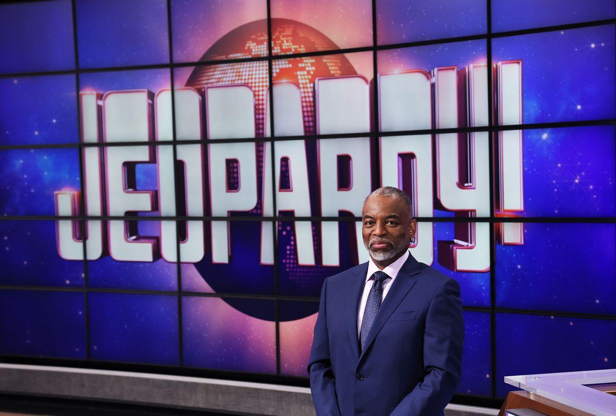 "LeVar Burton on ""Jeopardy!"" (Jeopardy Productions, Inc.)"