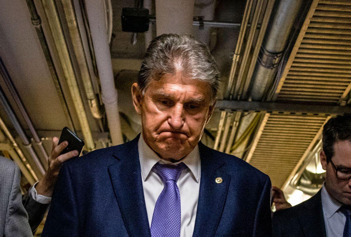 U.S. Sen. Joe Manchin (D-WV) (Samuel Corum/Getty Images)