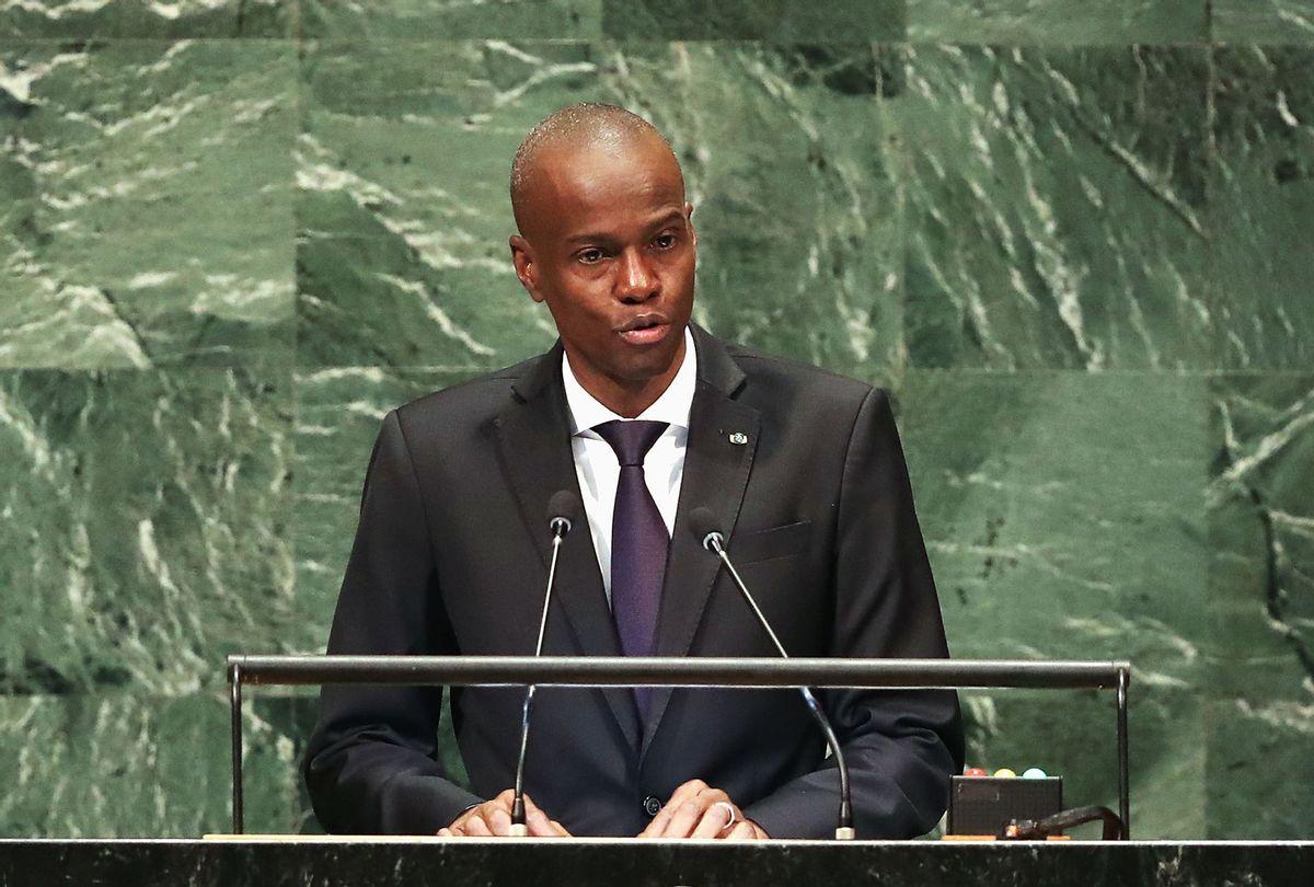 President of Haiti, Jovenel Moise (John Moore/Getty Images)
