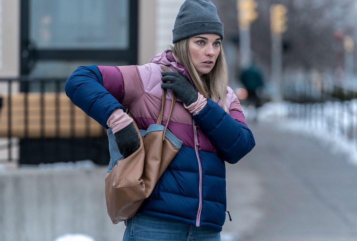 "Annie Murphy in ""Kevin Can F**k Himself"" (Zach Dilgard/AMC)"
