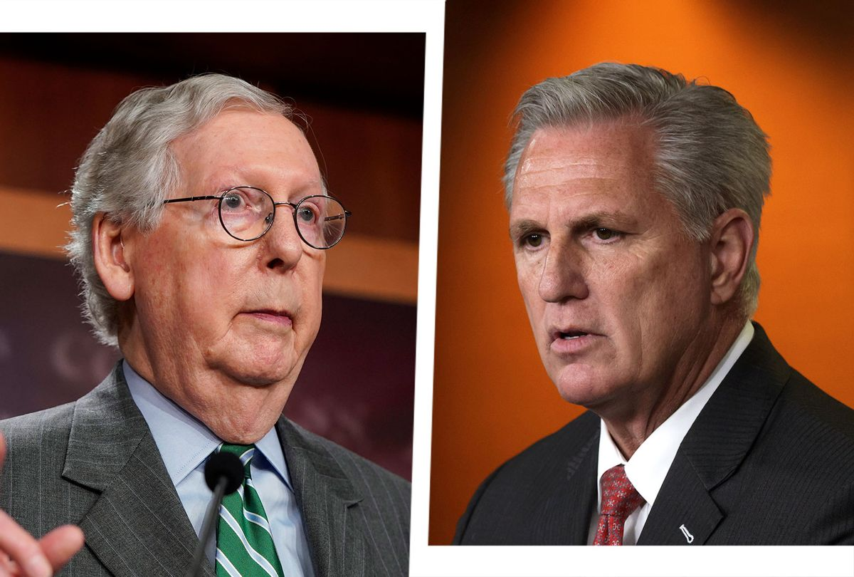 Mitch McConnell and Kevin McCarthy (Photo illustration by Salon/Getty Images)