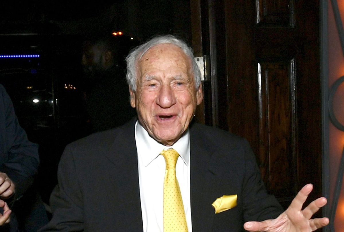 Mel Brooks attends the 2018 TCM Classic Film Festival opening night after party in April 2018 in Hollywood (Emma McIntyre/Getty Images for TCM)