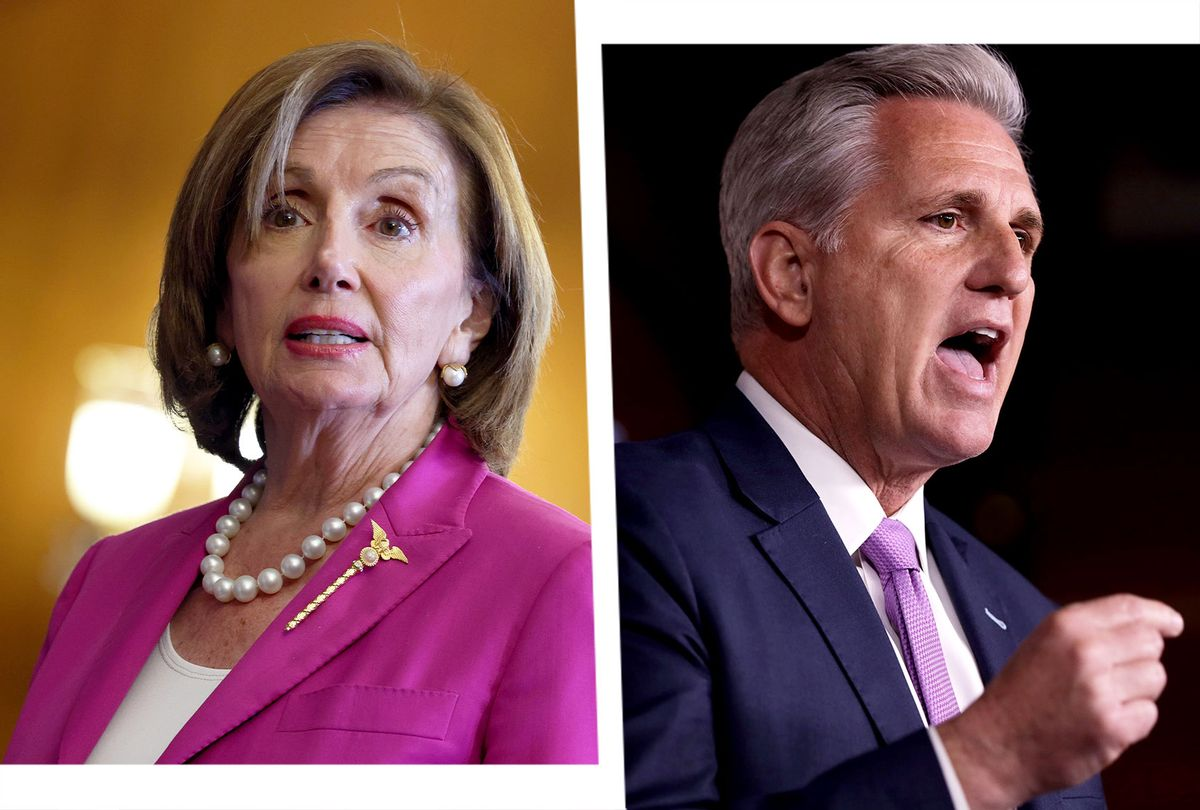Nancy Pelosi and Kevin McCarthy (Photo illustration by Salon/Getty Images)