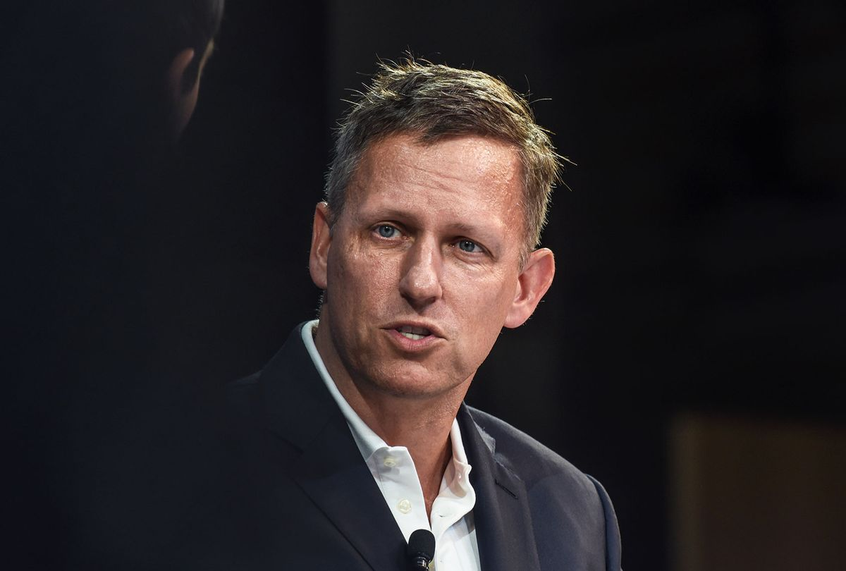Peter Thiel (Stephanie Keith/Getty Images)