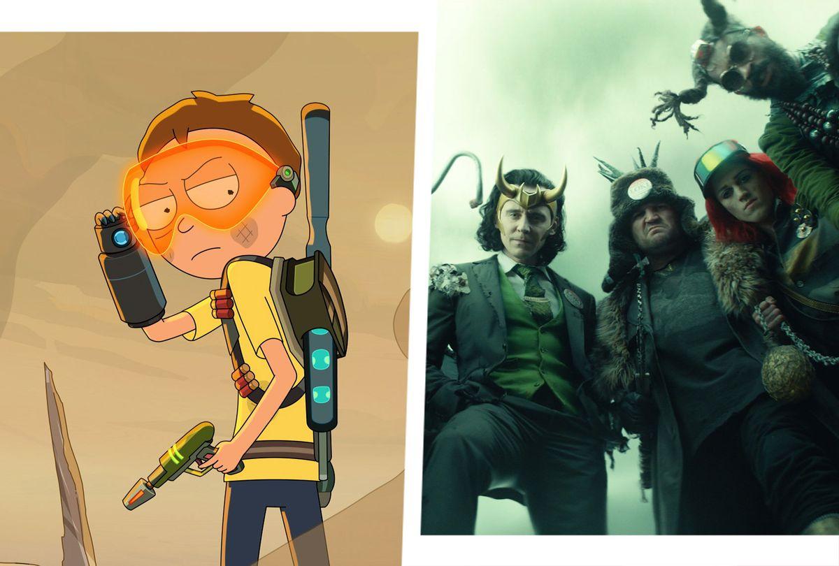 Rick and Morty   Loki (Photo illustration by Salon/Adult Swim/Marvel Studios)
