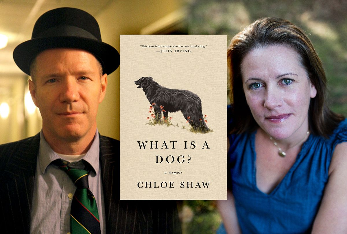 """Chloe Shaw, author of """"What Is A Dog?"""" and author Rick Moody (Photo illustration by Salon/Flat Iron Books/Rachel Liu)"""