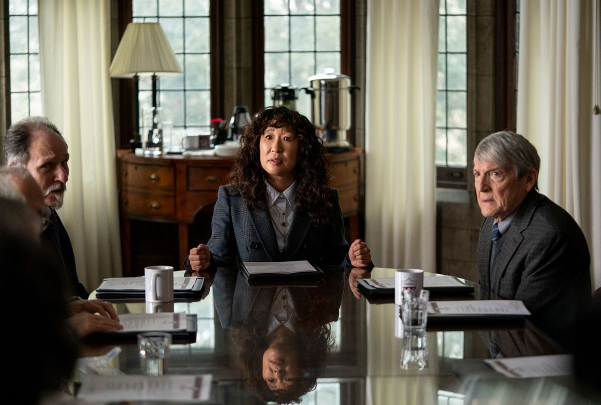 """Sandra Oh is ready to shake up academia in new trailer for Netflix's dark comedy """"The Chair"""""""