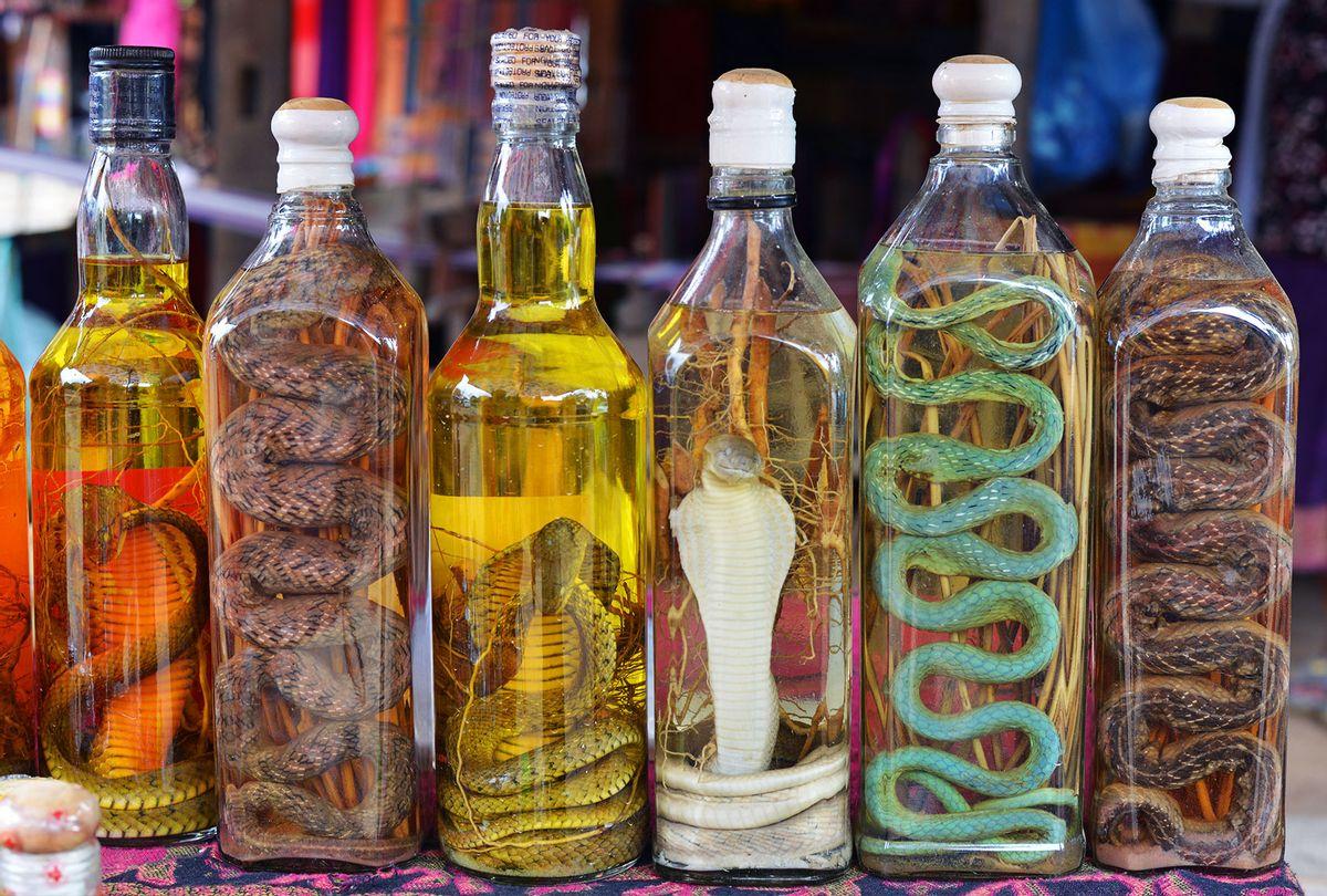 Snake Wines & Liquors (Getty Images/Andy Krakovski)