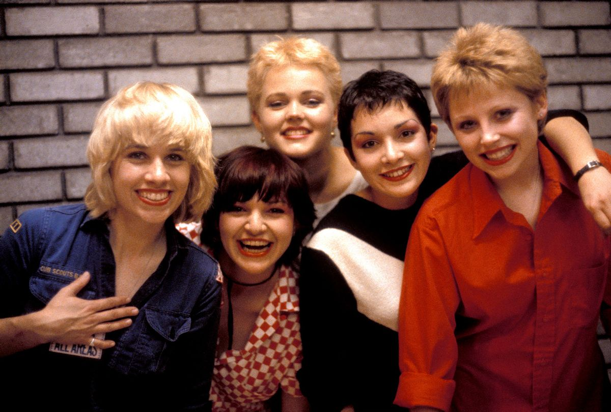 The Go-Go's, circa 1980 (Kerstin Rodgers/Redferns/Getty Images)