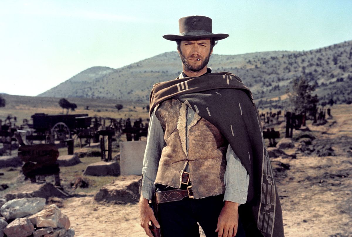"""Clint Eastwood on the set of """"The Good, The Bad and The Ugly"""" (United Artists/Sunset Boulevard/Corbis via Getty Images)"""