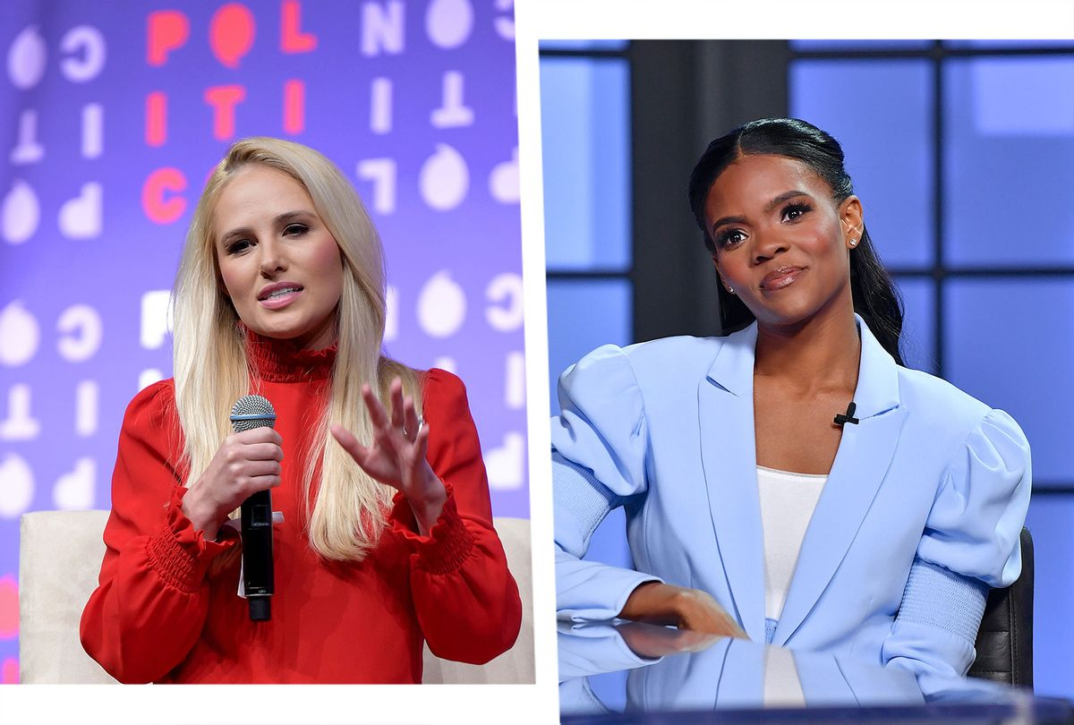 Tomi Lahren and Candace Owens (Photo illustration by Salon/Getty Images)
