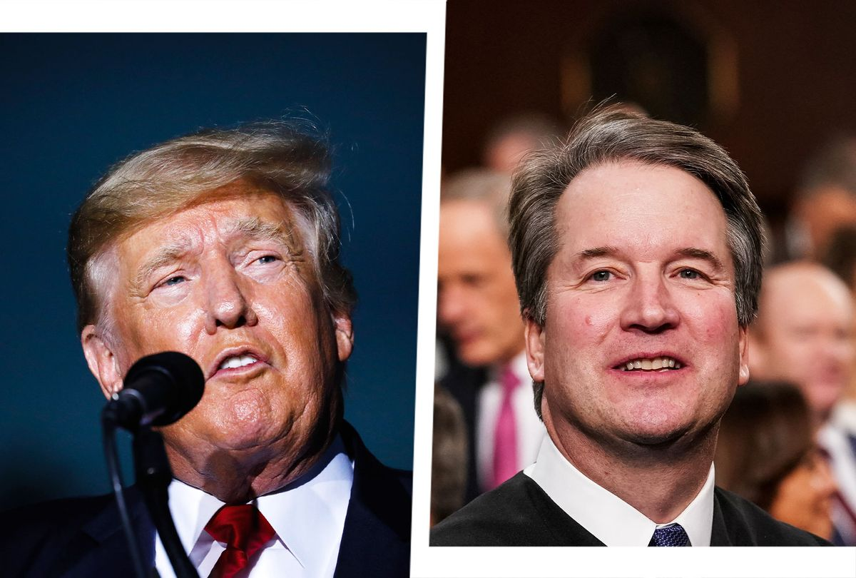 Donald Trump and Brett Kavanaugh (Photo illustration by Salon/Getty Images)