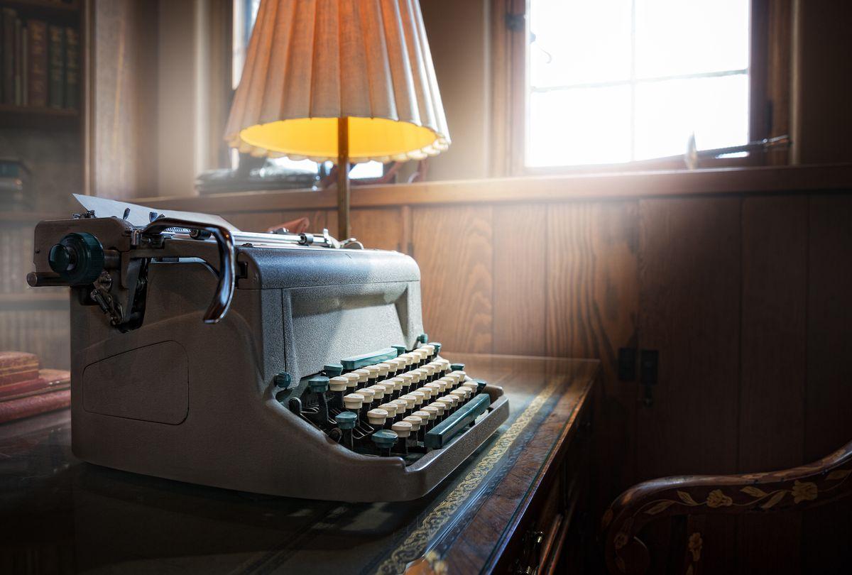 Vintage typewriter (Ken Redding/The Image Bank/Getty Images)