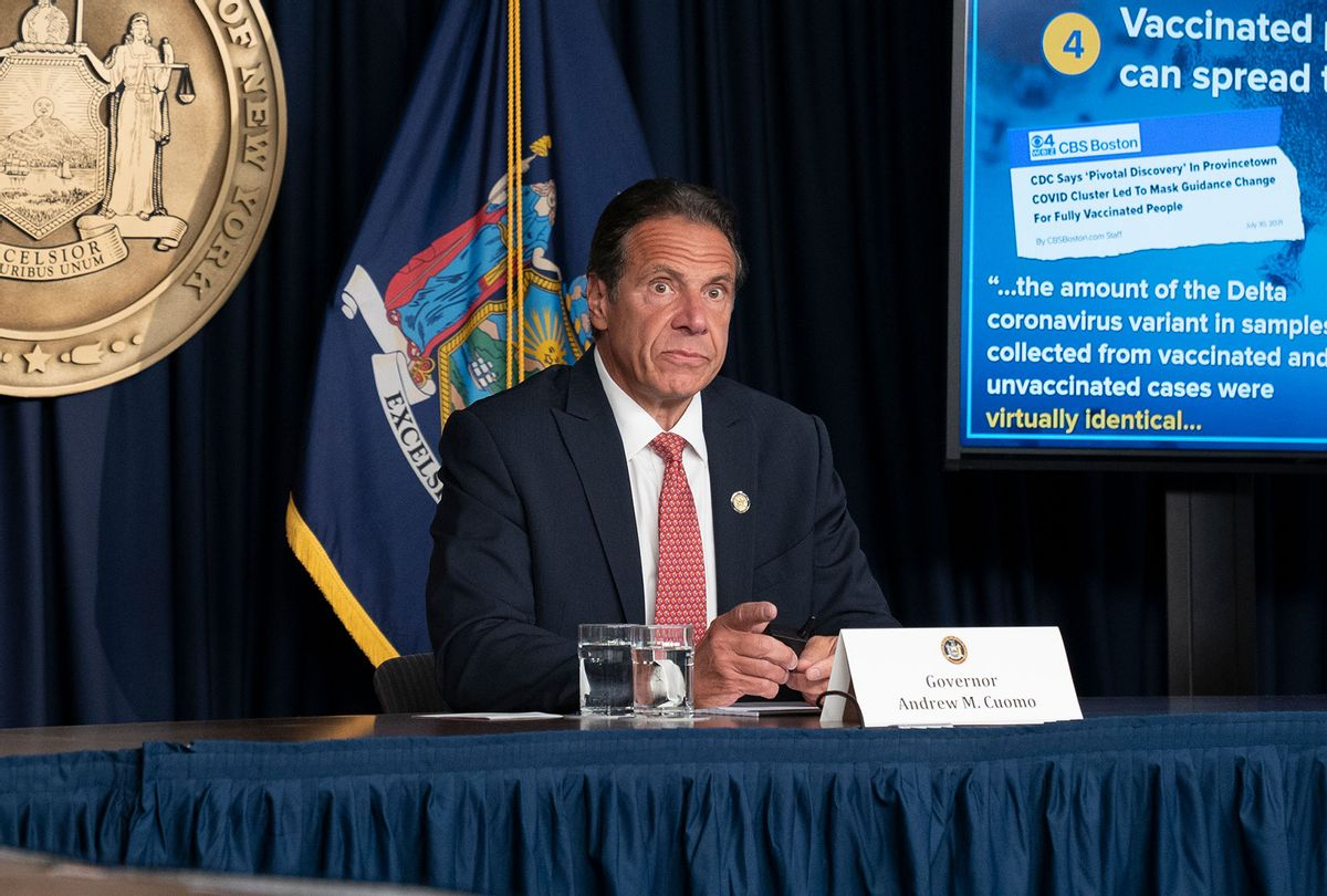 Governor Andrew Cuomo (Lev Radin/Pacific Press/LightRocket via Getty Images)