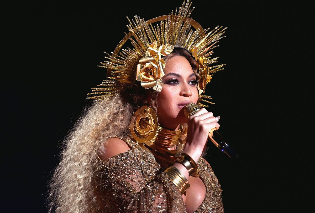Beyoncé performs at the Grammys in 2017 (Lester Cohen/Getty Images for NARAS)