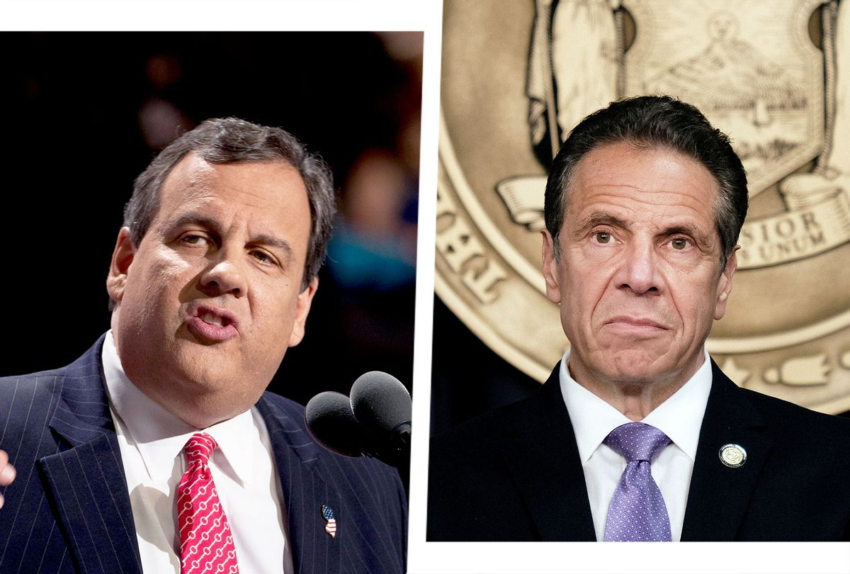 Chris Christie and Andrew  Cuomo (Photo illustration by Salon/Getty Images)