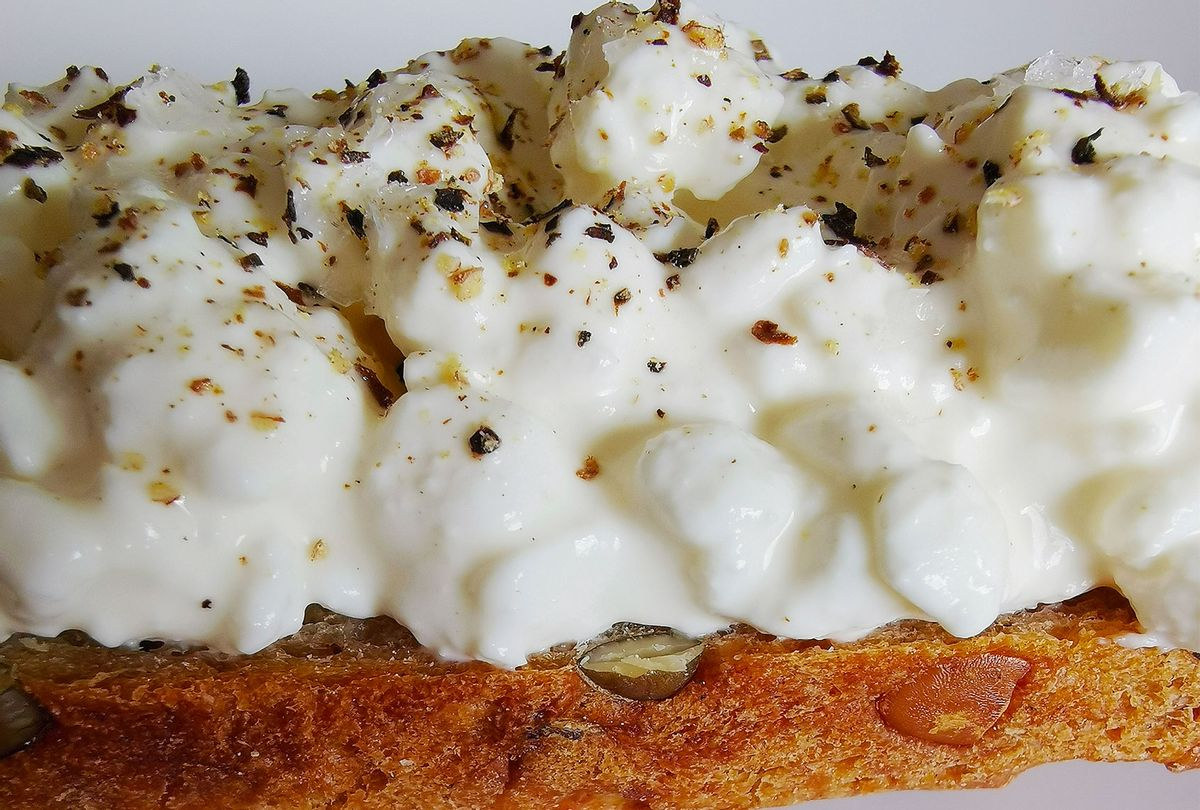 Cottage Cheese on toast (Photo provided by Summer Rylander)