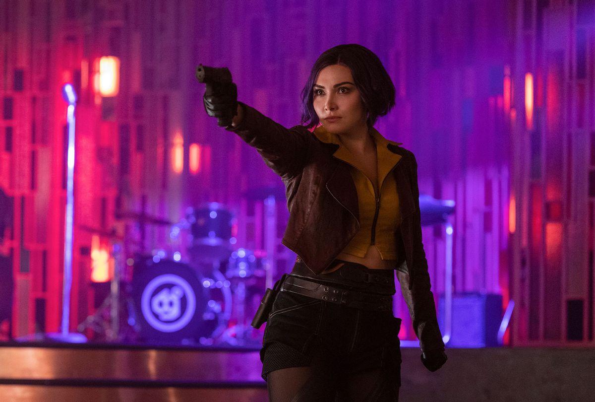 "Daniella Pineda as Faye Valentine in ""Cowboy Bebop"" (GEOFFREY SHORT/NETFLIX)"