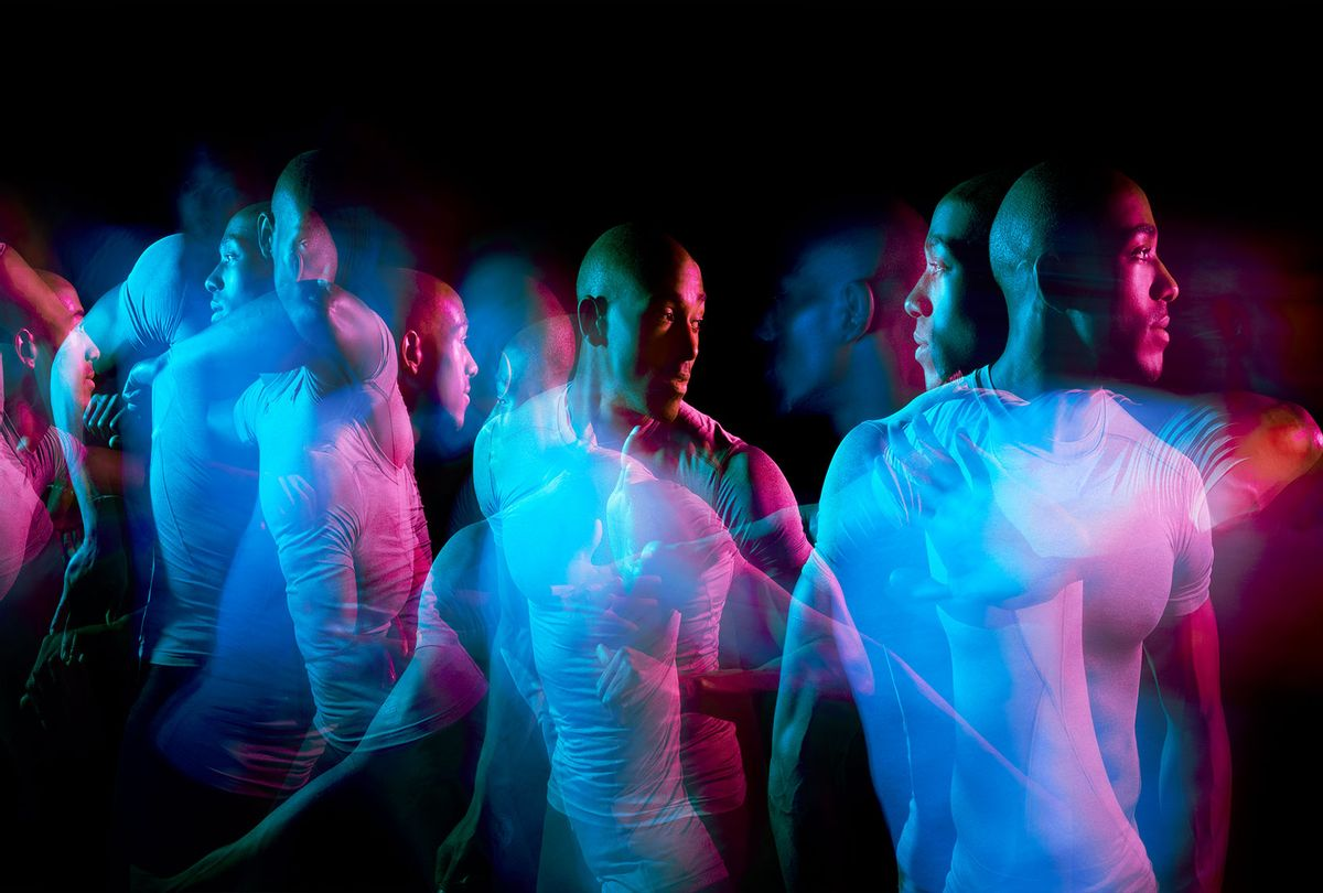 Multiple exposures of a man moving or dancing (Getty Images/Tara Moore)
