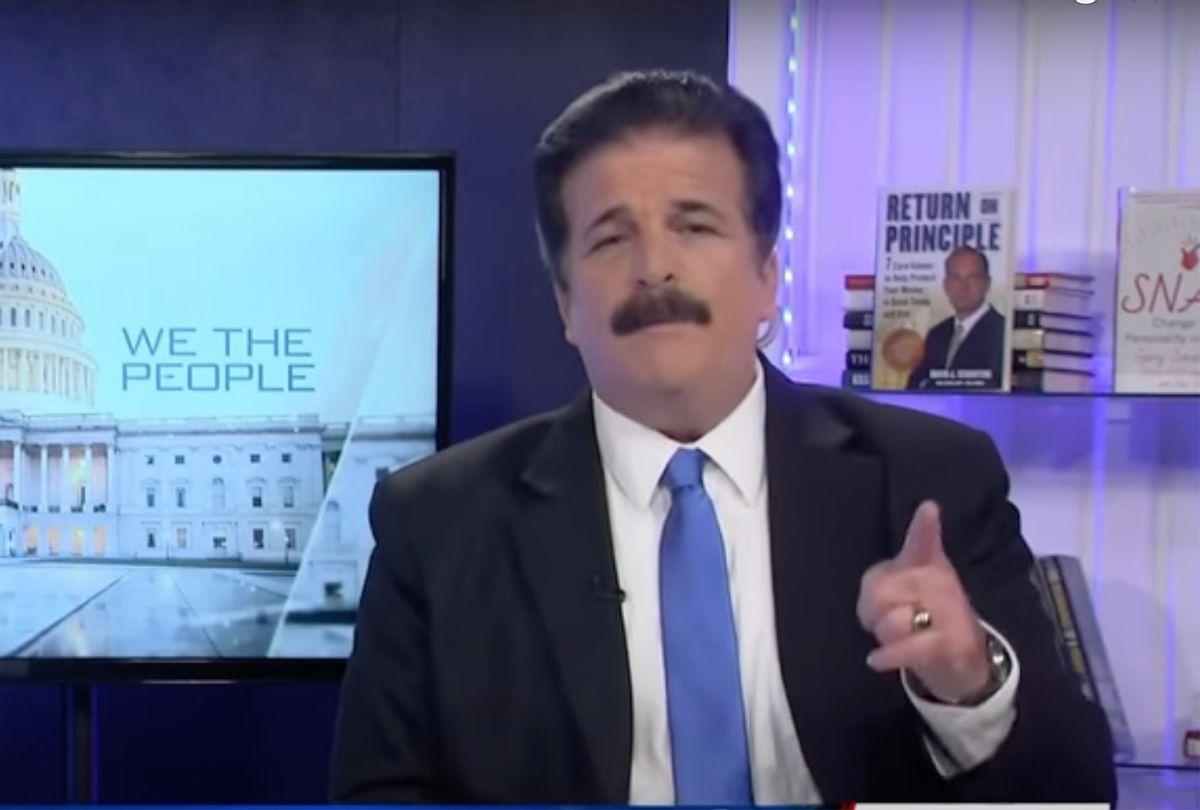 Former Newsmax host Dick Farrel (Newsmax)