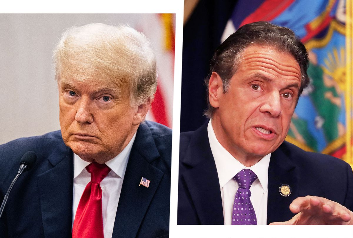 Donald Trump and Andrew Cuomo (Photo illustrated by Salon/Getty Images)