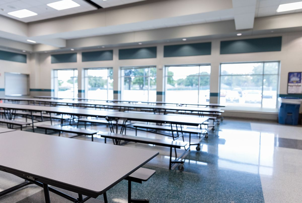 Empty school cafeteria (Getty Images/SDI Productions)