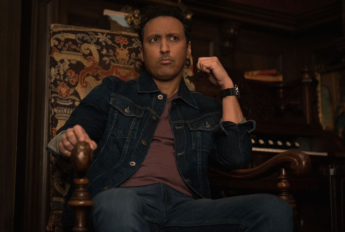 "Aasif Mandvi as Ben Shakir in ""Evil"" (Elizabeth Fisher/CBS/Paramount+)"